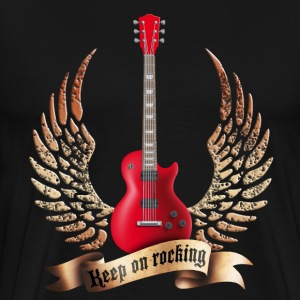 guitars_and_wings_032014_a T-Shirts - Men's Premium T-Shirt