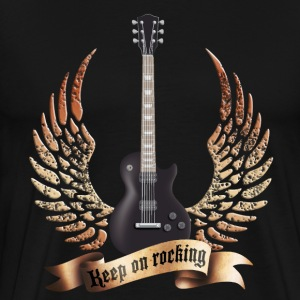 guitars_and_wings_032014_d T-Shirts - Men's Premium T-Shirt