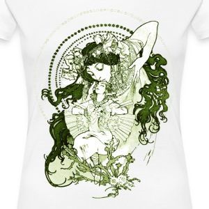 Art Goddess Green - Women's Premium T-Shirt