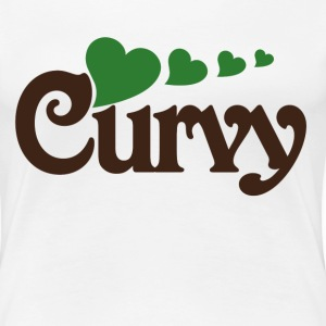 Curvy Girl - Women's Premium T-Shirt