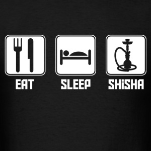 eat_sleep_shisha T-Shirts - Men's T-Shirt
