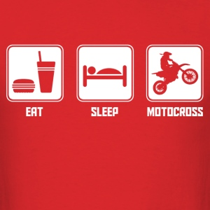eat_sleep_motocross T-Shirts - Men's T-Shirt