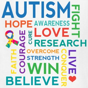 Autism Awareness Hope Cure Kids' Shirts - Kids' T-Shirt