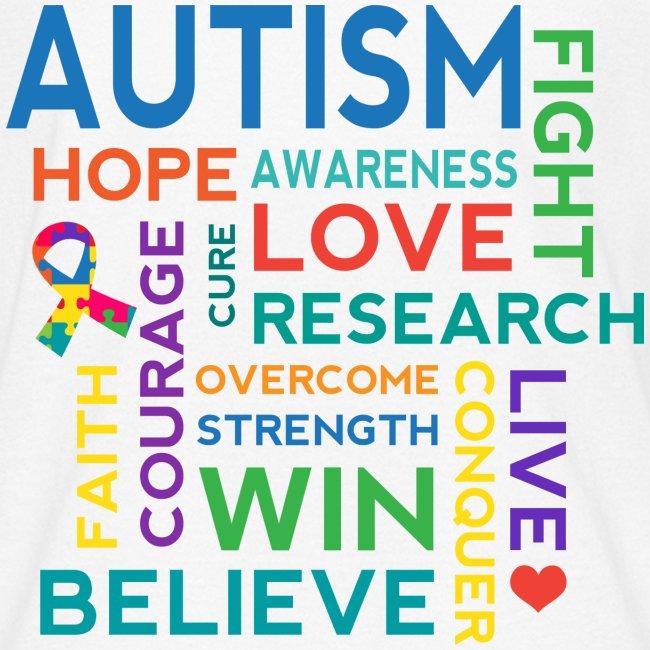 Autism Hope Cure Love Kids T-shirt | Kids' T-Shirt