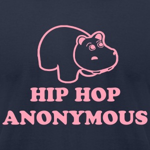 Hip Hop Anonymous T-Shirts - Men's T-Shirt by American Apparel