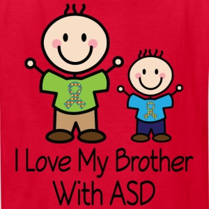 Autism ASD Brother Kids' Shirts - Kids' T-Shirt