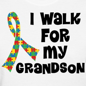 Autism Walk For Grandson Women's T-Shirts - Women's T-Shirt