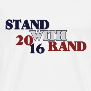 Stand with Rand Paul - Men's Premium T-Shirt