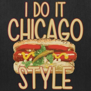 Chicago Style Clothing Apparel Shirts Parody Bags & backpacks - Tote Bag
