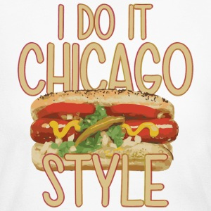 Chicago Style Clothing Apparel Shirts Parody Long Sleeve Shirts - Women's Long Sleeve Jersey T-Shirt