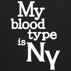 My Blood Type Is New York Clothing Apparel Shirts Sweatshirts - Kids' Hoodie