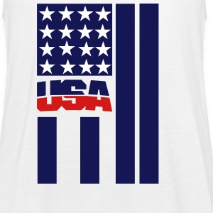 USA FLAG - Women's Flowy Tank Top by Bella