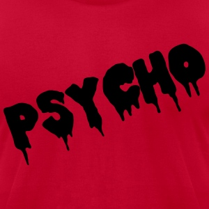 Psycho T-Shirts - Men's T-Shirt by American Apparel