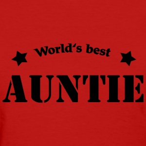 World's best Auntie Women's T-Shirts - Women's T-Shirt