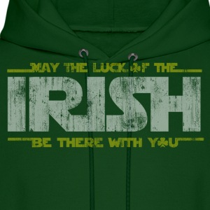 St Patrick's Day May the Luck of the Irish  Hoodies - Men's Hoodie
