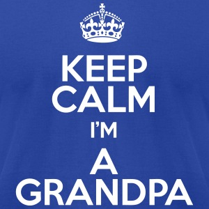 Keep Calm Grandpa T-Shirts - Men's T-Shirt by American Apparel