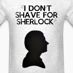 Shaving for Sherlock