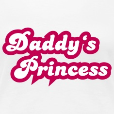 Daddy's Princess Women's T-Shirts
