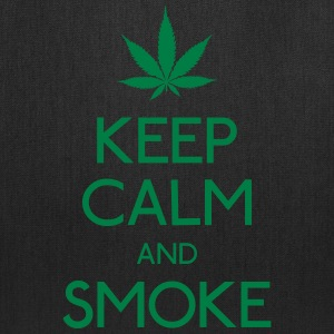 keep calm and smoke Bags & backpacks - Tote Bag