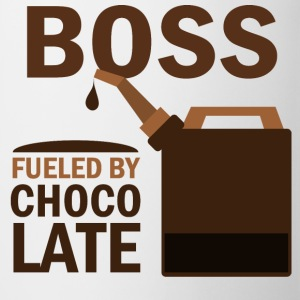 Boss Fueled By Chocolate Bottles & Mugs - Coffee/Tea Mug