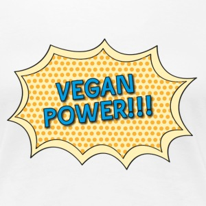 vegan_power Women's T-Shirts - Women's Premium T-Shirt