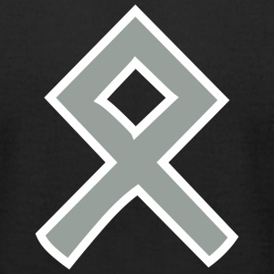 Othala Rune - Men's T-Shirt by American Apparel