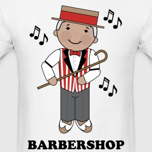 Barbershop Singer Music T-Shirts - Men's T-Shirt