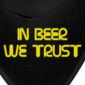 In beer we trust Caps - Bandana