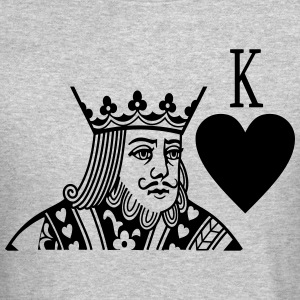 King (Couple Left) Man - Crewneck Sweatshirt