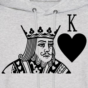 King (Couple Left) Man - Men's Hoodie