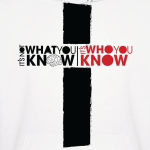 Who You Know Hoodies - Men's Hoodie