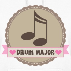 Drum Major Music Gift Hoodies