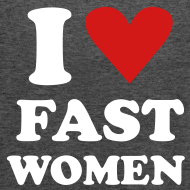 Design ~ Heart Fast Women / Tank / Women
