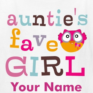 Auntie's favorite girl Kids' Shirts - Kids' T-Shirt