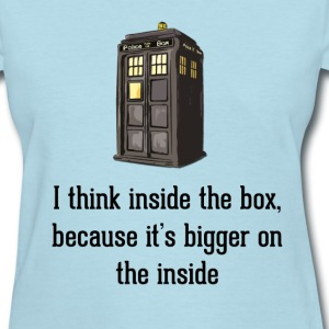 Thinking Inside The Box Women's T-Shirts - Women's T-Shirt