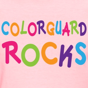 Colorguard Rocks Women's T-Shirts - Women's T-Shirt