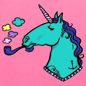 smoking unicorn Bags & backpacks - Tote Bag