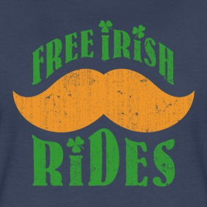 Free Irish mustache ride - Women's Premium T-Shirt