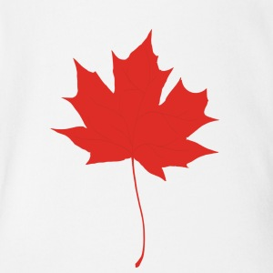 Red maple leaf Baby & Toddler Shirts - Short Sleeve Baby Bodysuit