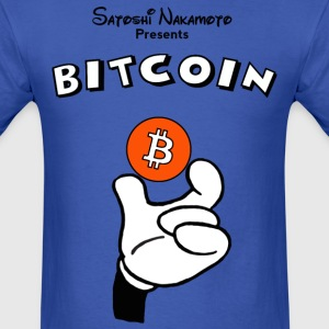 Bitcoin Geek Nerd Money - Men's T-Shirt