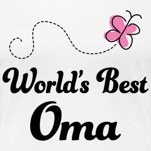 World's Best Oma Women's T-Shirts - Women's Premium T-Shirt