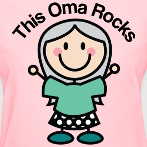 This Oma Rocks Women's T-Shirts - Women's T-Shirt