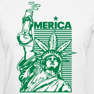 'merica (2 Color) Women's T-Shirts - Women's T-Shirt