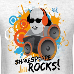 Shakespeare Rocks T-Shirts - Men's T-Shirt