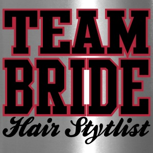 TEAM BRIDE: Hair Stylist Bottles & Mugs - Travel Mug
