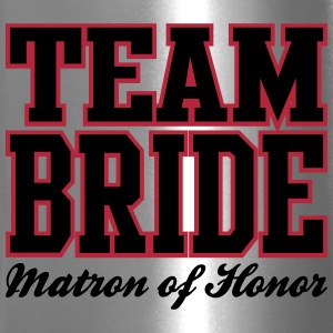 TEAM BRIDE Matron of Honor Bottles & Mugs - Travel Mug