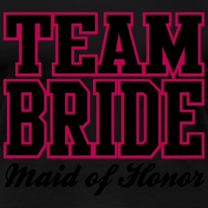 TEAM BRIDE: Maid of Honor Women's T-Shirts - Women's Premium T-Shirt