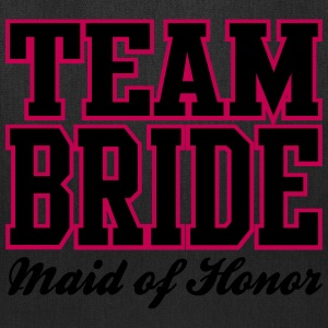 TEAM BRIDE: Maid of Honor Bags & backpacks - Tote Bag