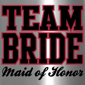 TEAM BRIDE: Maid of Honor Bottles & Mugs - Travel Mug