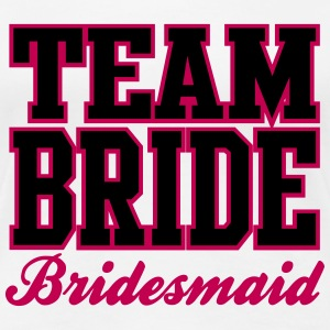 TEAM BRIDE: Bridesmaid Women's T-Shirts - Women's Premium T-Shirt
